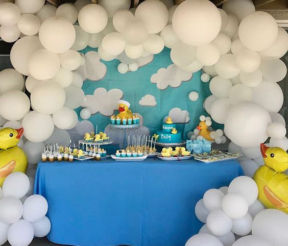 tematica patitos para baby shower