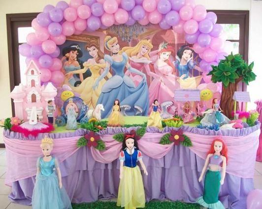 princesas disney fiesta infantil