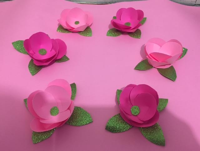 Como hacer Flor fcil de Papel decoracion para fiestas