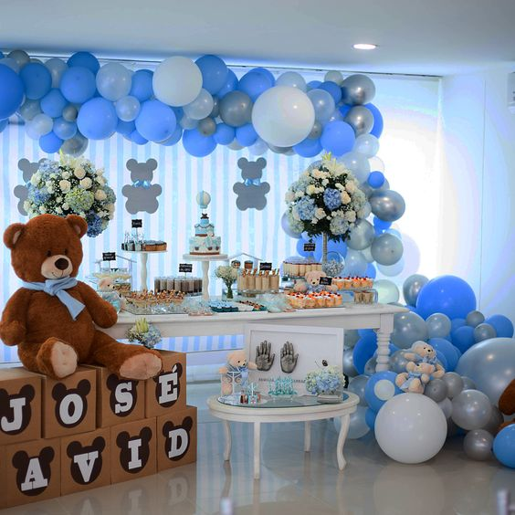 decoracion baby shower osos