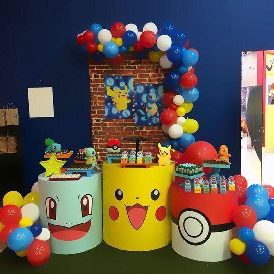 decoracion fiesta pokemon