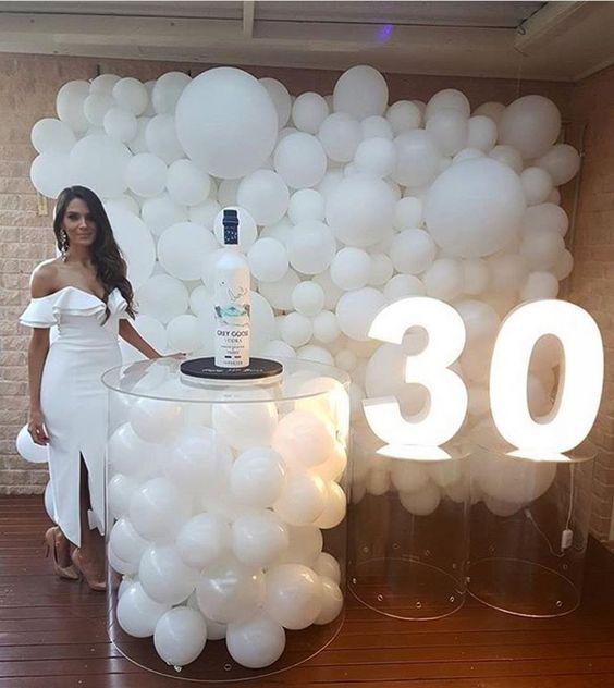 cumpleaños 30 años mujer