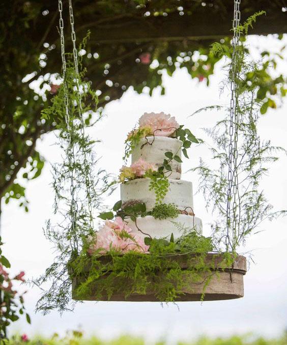 decoracion pastel de boda
