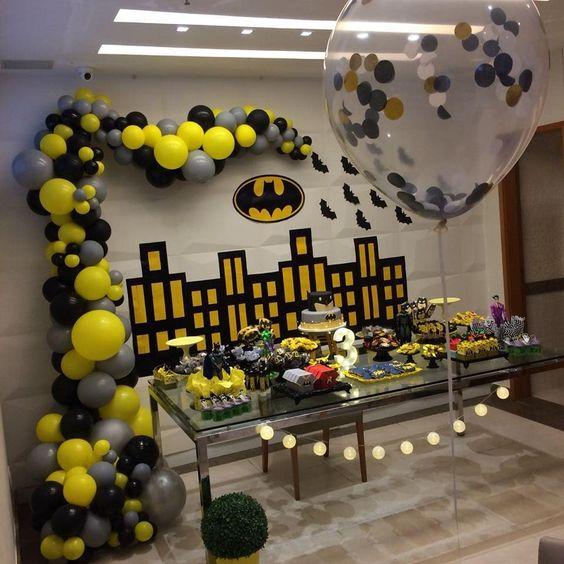 cumpleaños infantil de batman