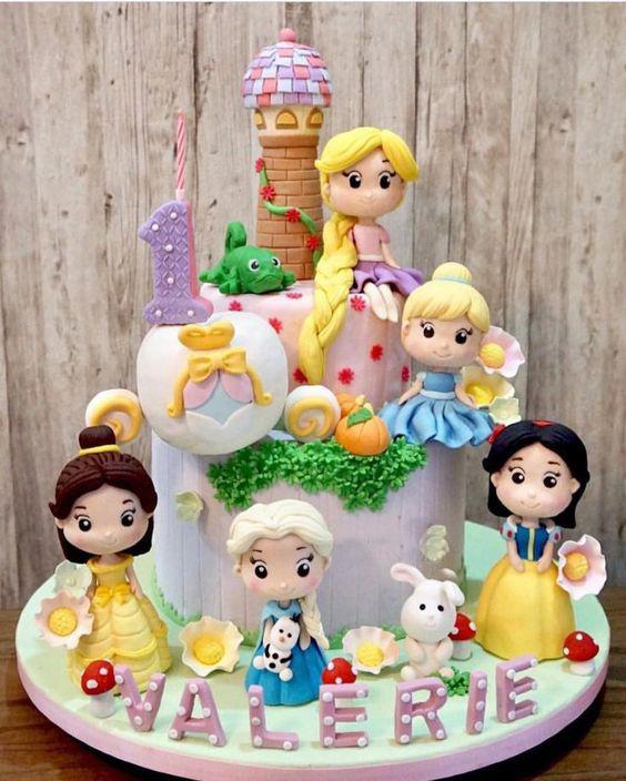torta fiesta de princesas