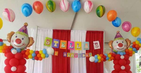 decoración para fiesta infantil