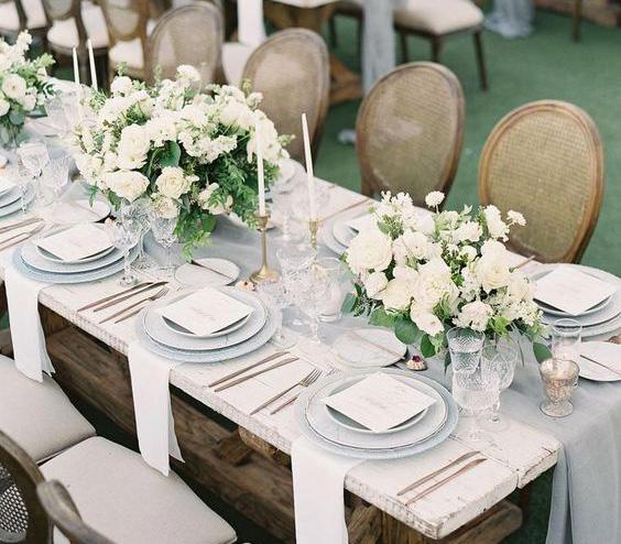 boda 2020 arreglos de mesa