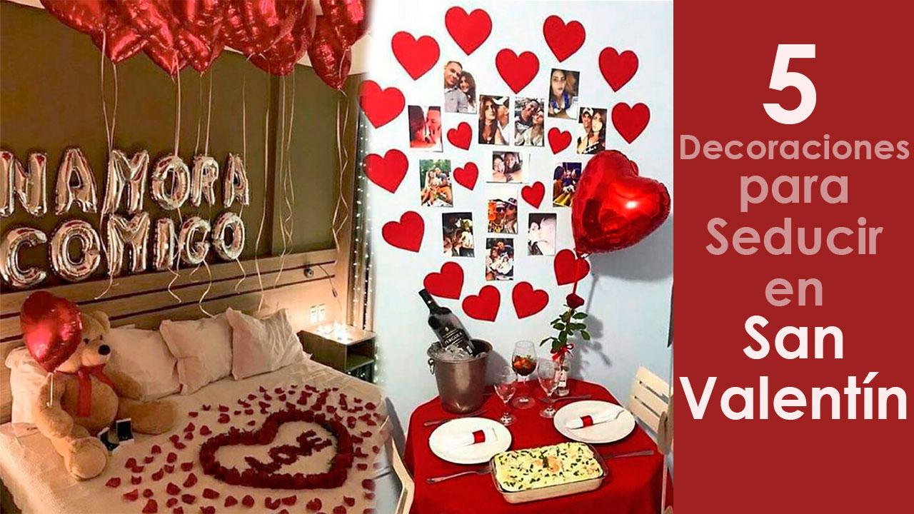 5 Decoraciones para Seducir en San Valentín