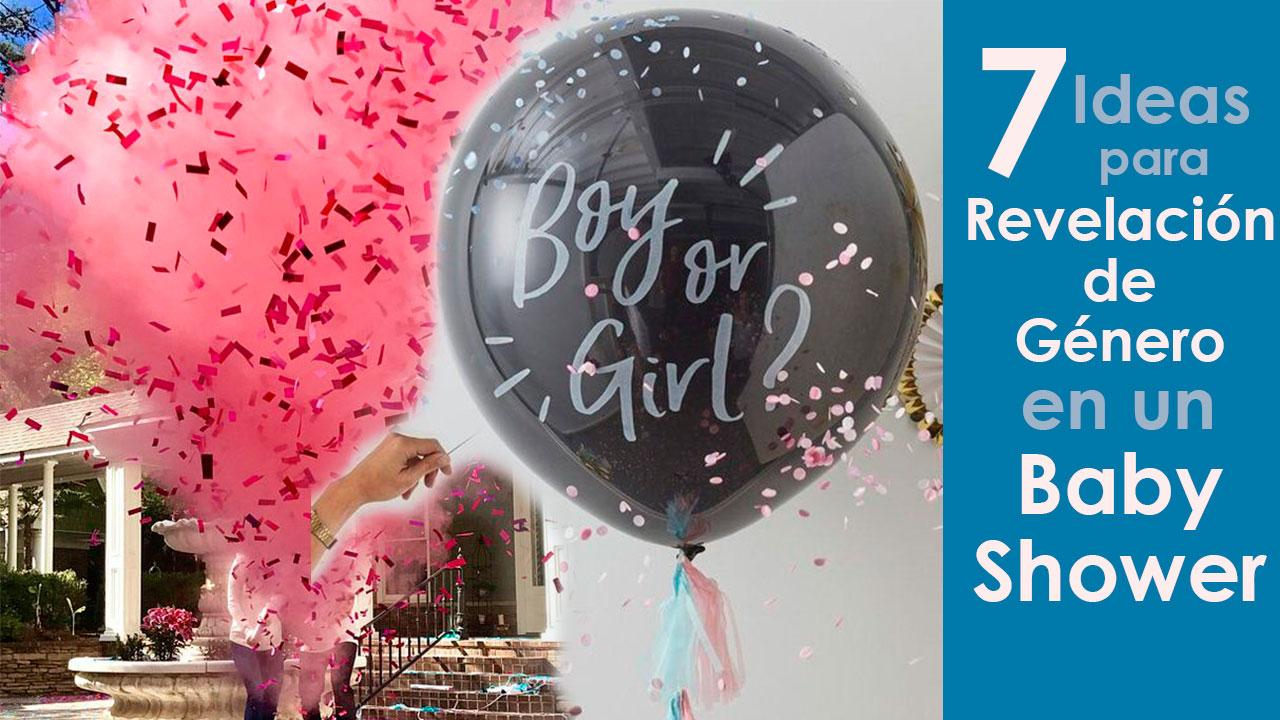 7 Ideas para Revelación de Género en un Baby Shower