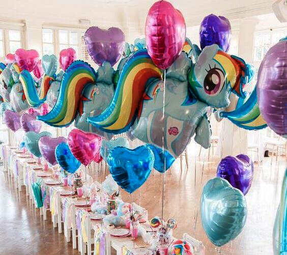 globos my little pony
