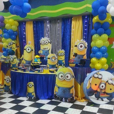 cumpleaños de niño fiesta en salon