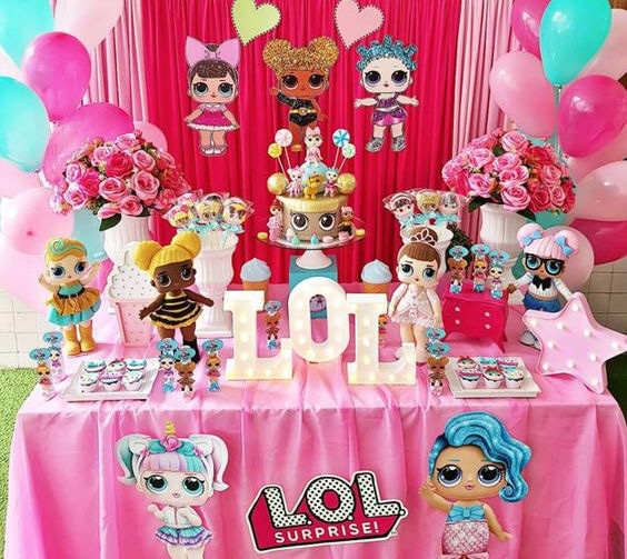 cumpleaños fiesta lol surprise dolls