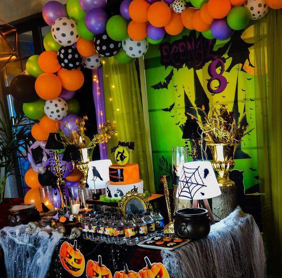 decoracion fiesta de halloween