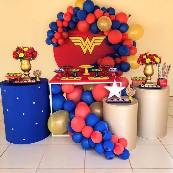 ideas fiesta super heroes