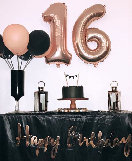 mesa de dulces para 16 años