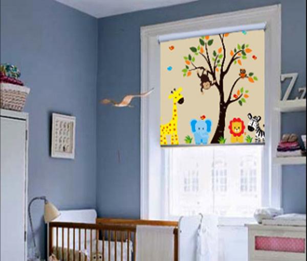 decoracion persianas para bebe
