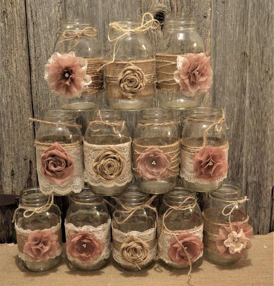 mason jars vintage