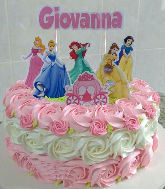 pasteles de princesas