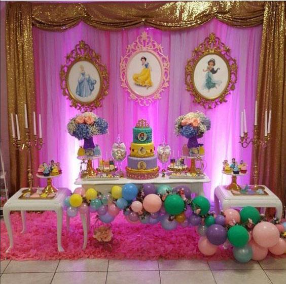 decoracion fiesta de niña