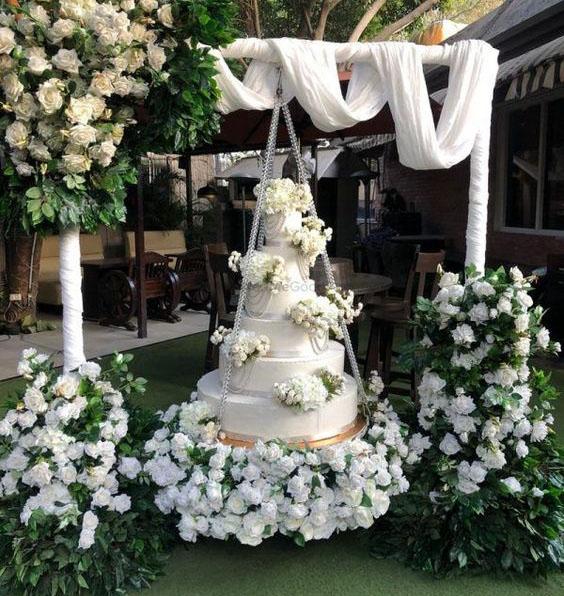 decoracion torta para boda