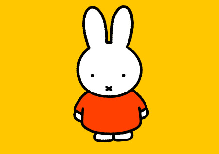 miffy figura de unicel