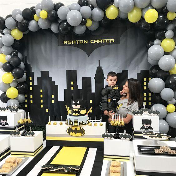 pastel de cumpleaños batman