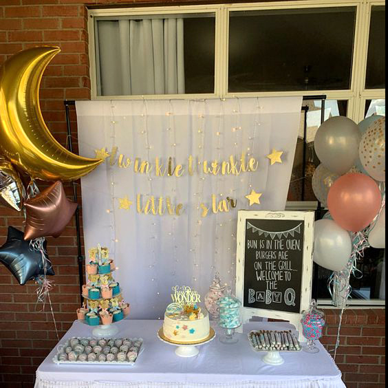 decoracion baby shower en casa