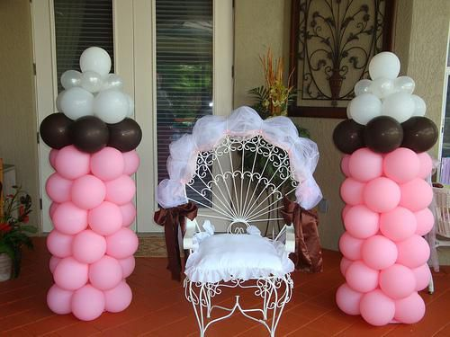 10 Adornos Para Baby Shower Con Globos Decoracion Para Fiestas