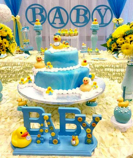 baby shower de patos