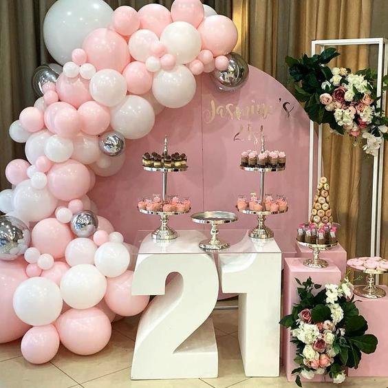 mesa de dulces 21 años