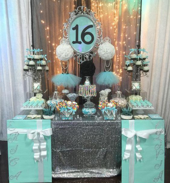 decoracion tematica fiesta dulces 16