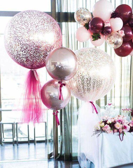 globos gigantes para boda