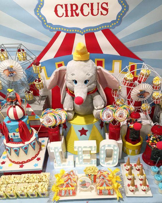 fiesta infantil dumbo