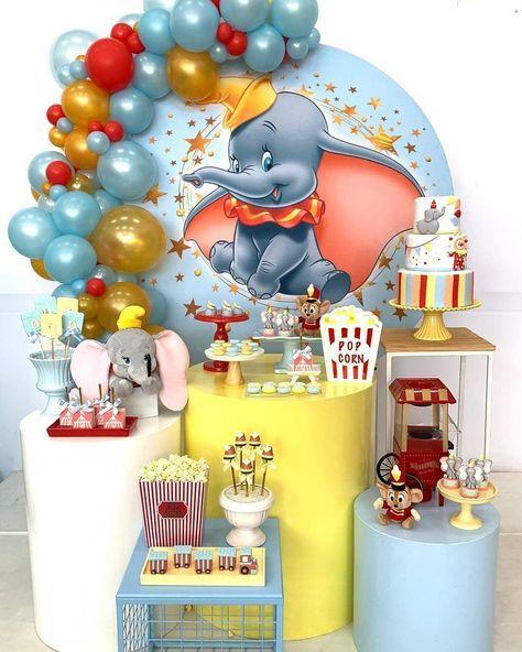 mesa de dulces dumbo