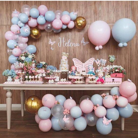 decoracion cumpleaños mariposas