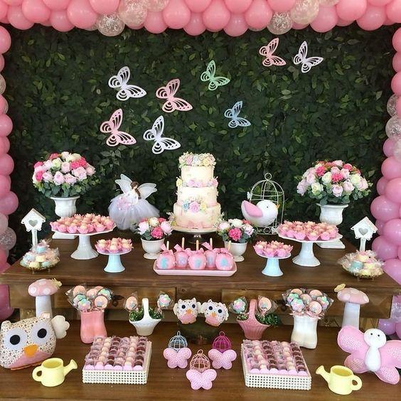 decoracion cumpleaños mariposa