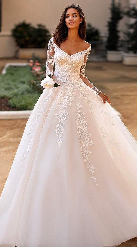 tendencias vestidos de boda 2020