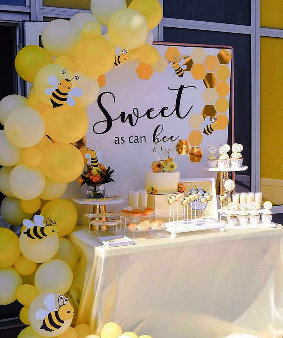 decoracion baby shower abejas