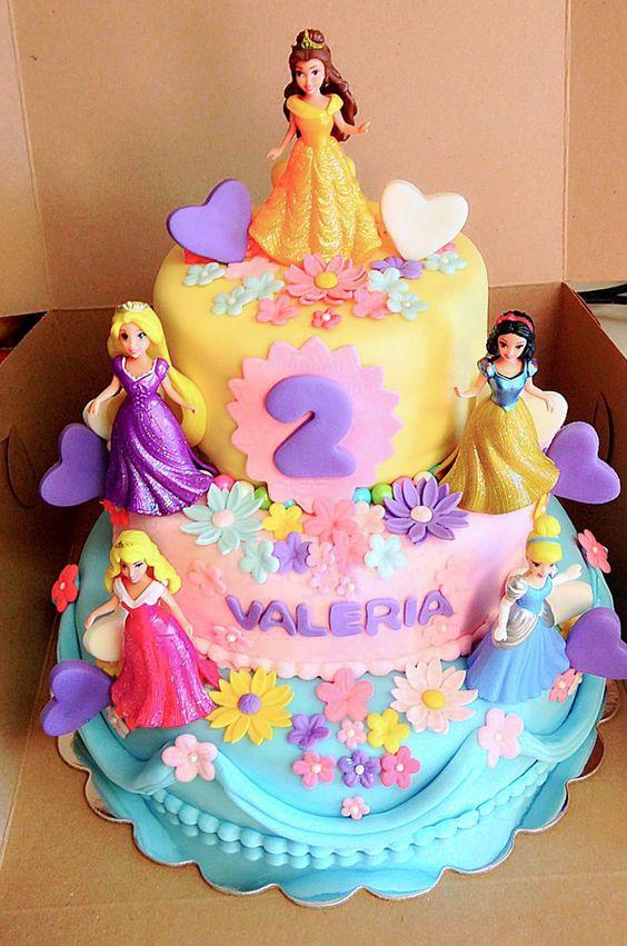 postres cumpleaños de princesas