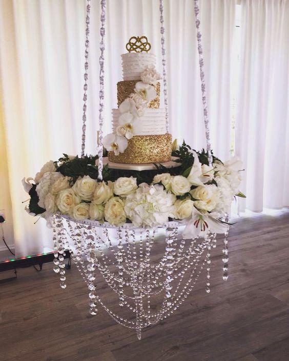 pasteles modernos para boda