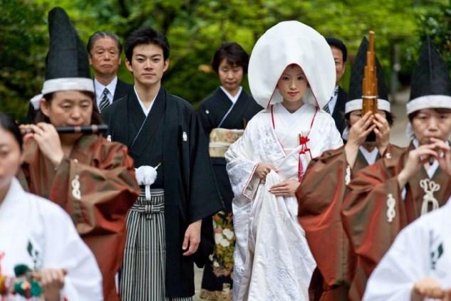 una boda en japon