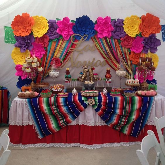 fiesta mexicana decoracion