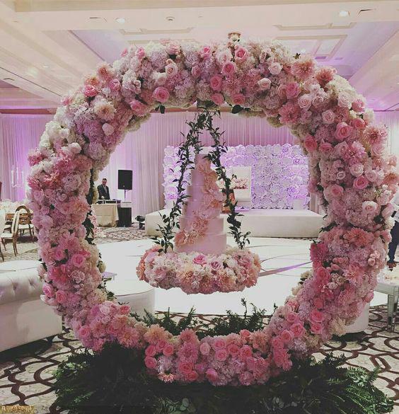 ideas con flores para boda