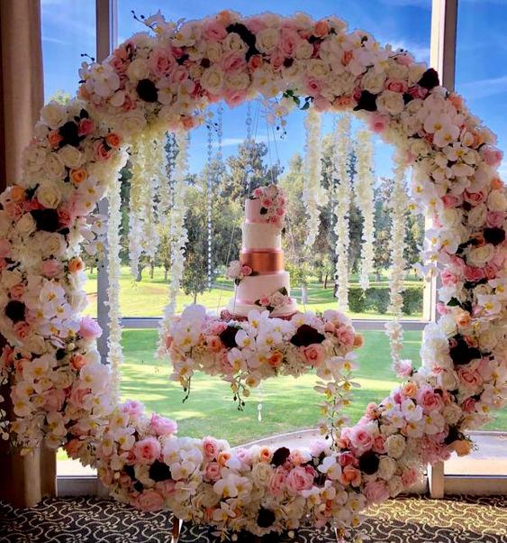 decoracion de postres para boda