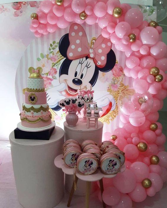 decoracion cumpleaños minnie mouse