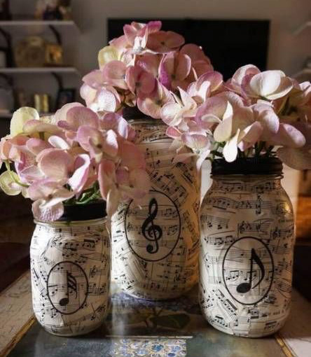 mason jars decorados