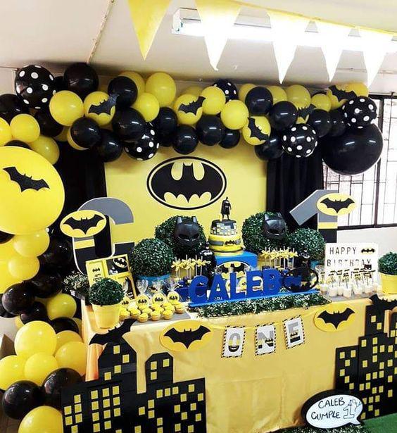 decoracion cumpleaños batman