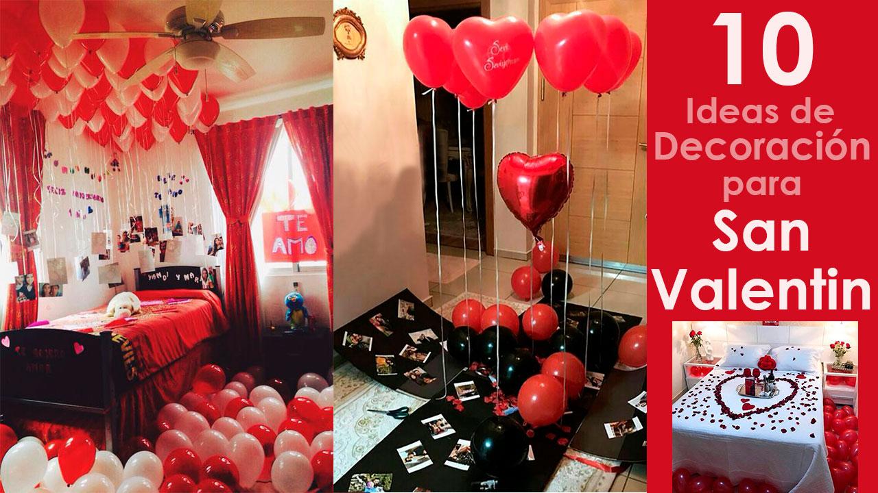 10 Ideas de Decoraciones para San Valentín en Casa