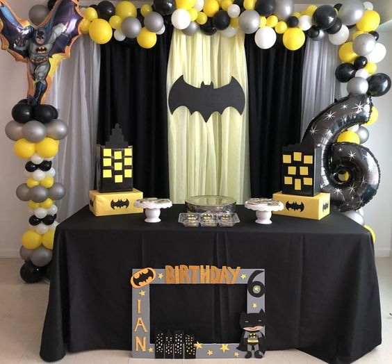 globos fiesta batman