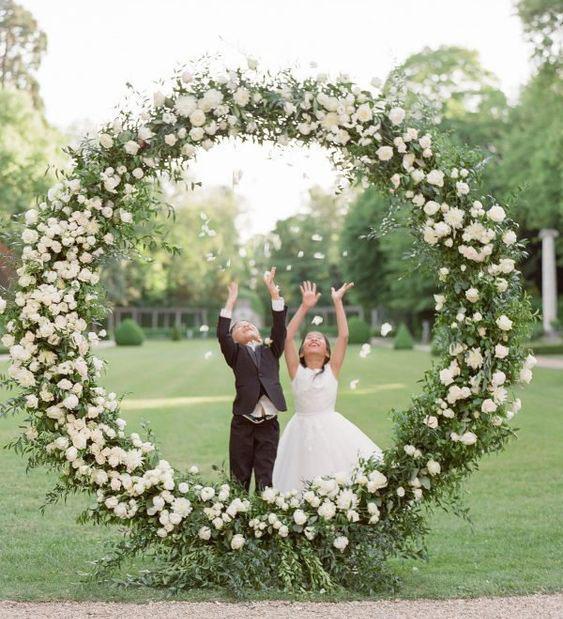 arco de flores para decoracion